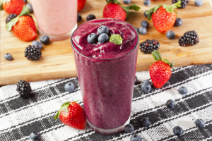 berry smoothie drink