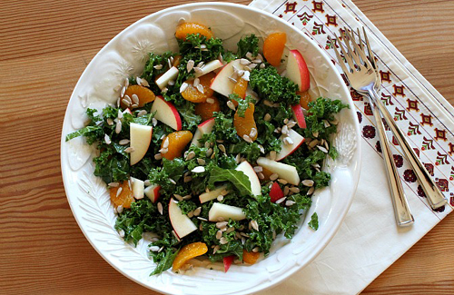 coconut and kale salad recipe